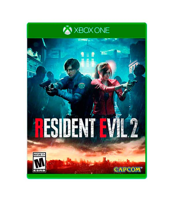 Juego resident evil 2 para xbox one
