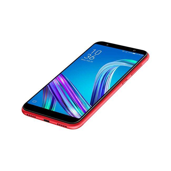 968d9ef7906 Celular libre Asus Zenfone Max M1, rojo - Panamericana