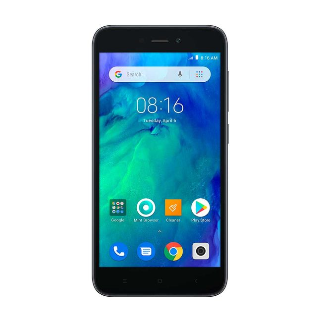 8485fd53af3 Celular libre Xiaomi Redmi Go, negro - Panamericana