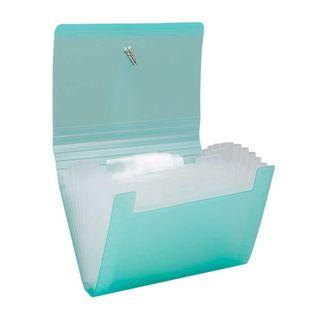 archivador-fuelle-a6-13-bolsillos-verde-7701016741200