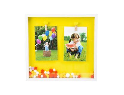 portarretrato-31-5-x-29-cm-mdf-2-fotos-con-pompones-amarillo-blanco-y-naranja-7701016702959