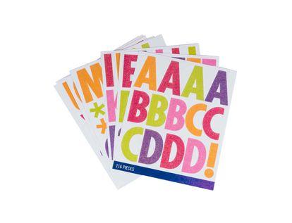 pegatinas-diseno-alfanumerico-multicolor-escarchado-por-116-unidades-15586972825
