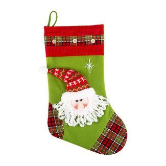 bota-navidena-con-cara-santa-escoces-verde-pistacho-50-cm-7701016722056