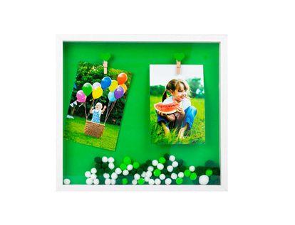 portarretrato-31-5-x-29-cm-mdf-2-fotos-con-pompones-verde-y-blanco-7701016702973