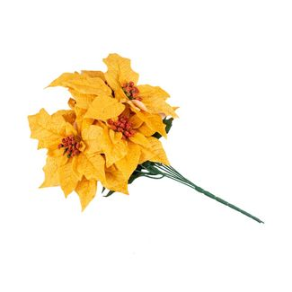 poinsettias-45-cm-amarillas-hojas-verdes-7701016718998