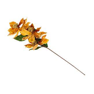 rama-76-cm-poinsettia-caramelo-con-hojas-verdes-7701016720823