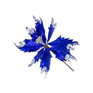 poinsettia-20-cm-azul-con-puntas-plata-7701016720915