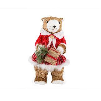 oso-32-cm-natural-de-pie-con-abrigo-regalo-y-espigas-7701016728324