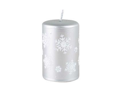 vela-navidena-7-cm-plateada-con-copos-de-nieve-7701016717151