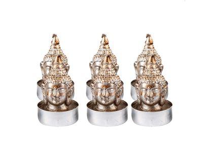 set-de-velas-cabeza-de-buda-plateado-por-6-unidades-7701016717335