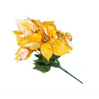 poinsettias-38-cm-amarillo-oscuro-borde-dorado-7701016720809