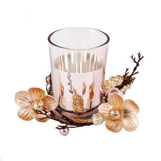 candelabro-oro-rosa-con-flores-y-esferas-8-5-cm-7701016748339
