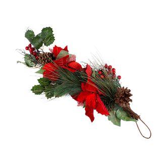 rama-58-cm-poinsettia-verde-rojo-pinas-con-frutos-rojos-8027458097989