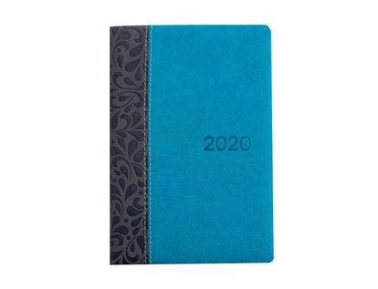 agenda-2020-diaria-cuero-14-5x21-5-cm-flores-7701016824460