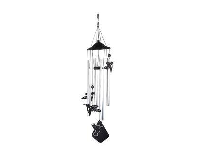 campana-de-viento-80-cm-tubo-con-colibri-metal-negro-7701016741491