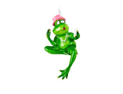 figura-rana-sentada-con-sombrero-rosado-y-pluma-en-poliresina-20-cm-7701016736381