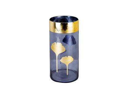 florero-azul-con-borde-y-hojas-doradas-30-cm-7701016762373