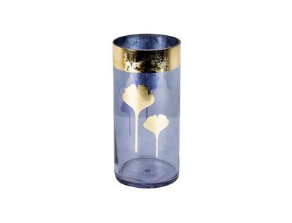 florero-azul-con-borde-y-hojas-doradas-25-cm-7701016762380