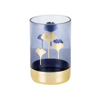 florero-azul-con-hojas-doradas-15-cm-7701016762403