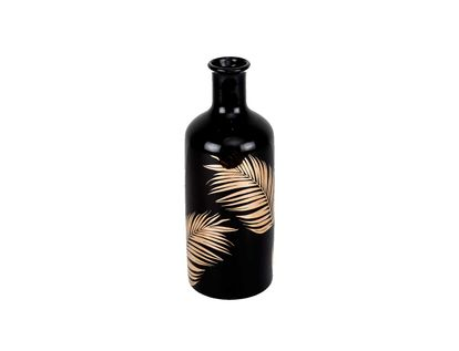 florero-negro-con-hojas-de-palma-doradadas-31-cm-7701016762427