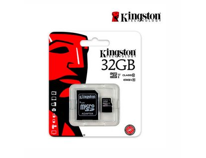 memoria-kingston-micro-sdhc-de-32-gb-clase-10-adaptador-740617246063