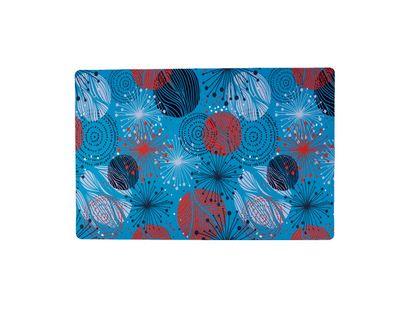 Tapete-azul-diseño-esferas-figuras-multiculor-40-x-60-cm
