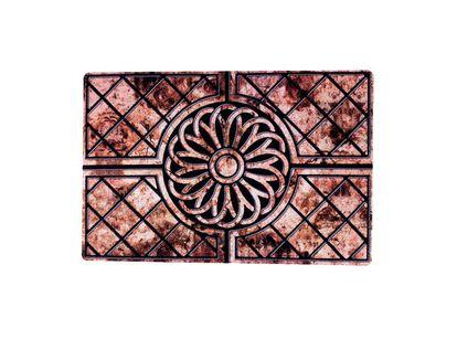 Tapete-diseño-entrelazado-con-rombos-y-figuras--40-x-60-cm