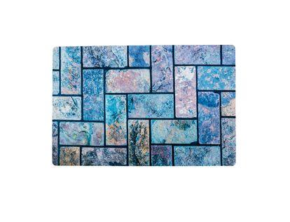 Tapete-azul-con-diseño-de-ladrillos-40-x-60-cm