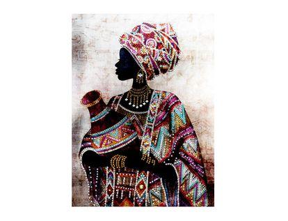 cuadro-canvas-color-arena-diseno-africana-con-vestido-multicolor-y-jarra-7701016796880