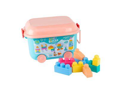 set-de-bloques-54-piezas-con-carro-azul-rosado-7701010001171