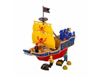 barco-pirata-con-4-piratas-y-accesorios-velas-amarilla-7701016744898