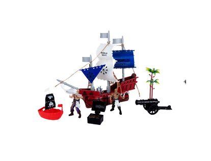 set-barco-pirata-velas-azules-y-blancas-con-accesorios-6923304120806