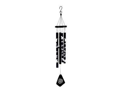 campana-de-viento-75-cm-tubos-metalicos-negros-con-letras-y-mariposa-7701016741354