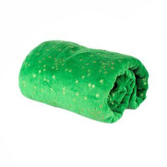 cobija-navidena-verde-con-estrellas-doradas-7701016784931