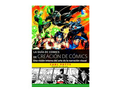 la-guia-dc-comics-de-creacion-de-comics-9788484838159
