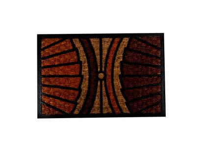 tapete-diseno-abanicos-naranjas-negros-y-cafe-7701016768580