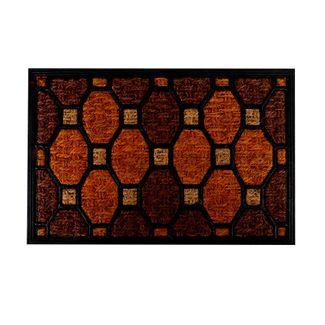 tapete-diseno-cuadros-y-octagonos-rojos-naranja-7701016768559
