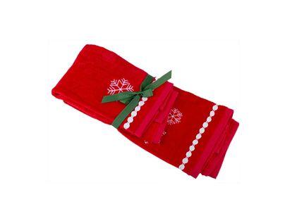set-de-toallas-2-piezas-40x66-27x45-cm-rojo-con-copo-de-nieve-7701016749732
