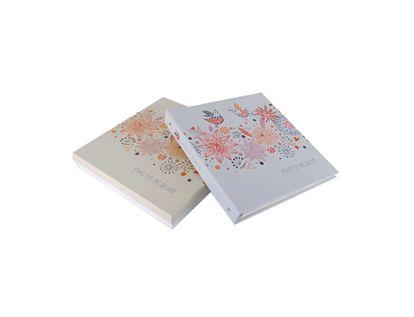album-fotografico-20-hojas-flores-colobri-fondo-beige-7701016773706