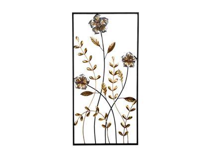 cuadro-metalico-100-x-50-cm-flores-con-hojas-plata-dorado-7701016817219