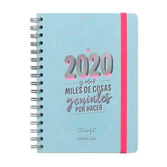 agenda-anual-clasica-2020-semana-vista-2020-y-mis-miles-de-cosas-geniales-por-hacer-8435460752954