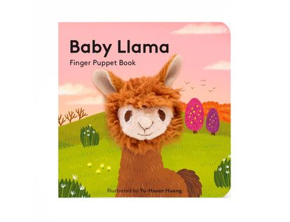 baby-llama-finger-puppet-book-9781452170817