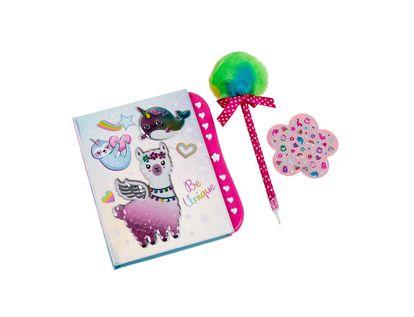 diario-con-clave-my-secret-diseno-alpaca-con-accesorios-842817070193