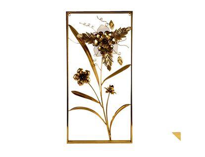 cuadro-dorado-decorativo-laton-diseno-flor-maya-y-tulipan-7701016792738