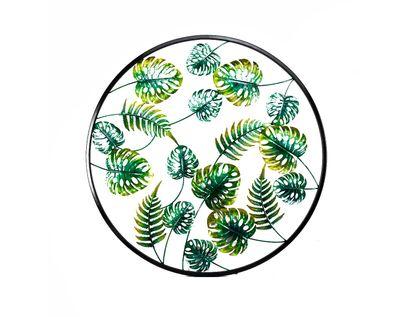cuadro-metalico-71-cm-circulas-hojas-verdes-7701016817646