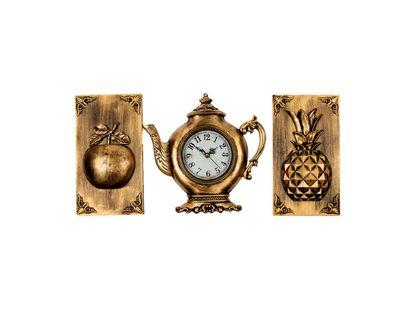 adornos-dorados-para-pared-x-3-piezas-reloj-diseno-tetera-manzana-y-pina-7701016823388