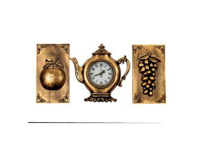 adornos-dorados-para-pared-x-3-piezas-reloj-diseno-tetera-manzana-y-uvas-7701016823401