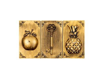 adornos-dorados-para-pared-x-3-piezas-diseno-manzana-llave-y-pina-7701016823845