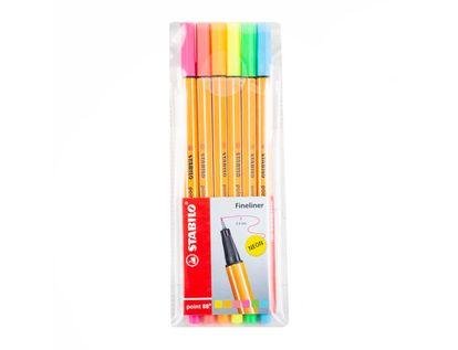 plumigrafo-stabilo-point-88-por-6-unidades-colores-neon-1-7701016868426