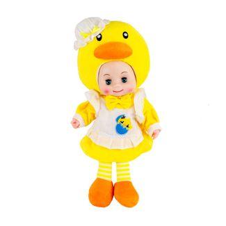 muneca-lovely-doll-amarillo-con-sonido-y-traje-de-pollito-7701016771375